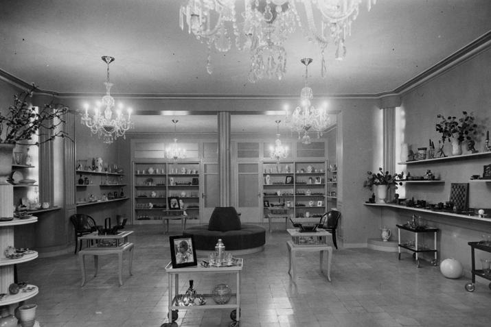 Interior de la tienda  Vincon Barcelona,  una tienda con historia