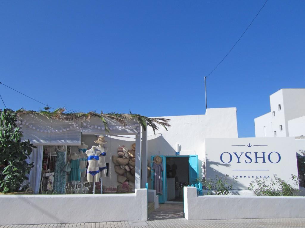 Pop Up -Oysho Formentera