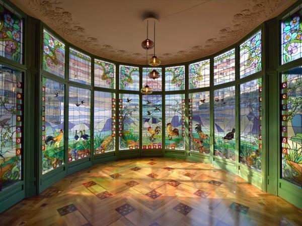 Casa lle morera una joya del modernismo 10decoracion - Ebanistas en barcelona ...
