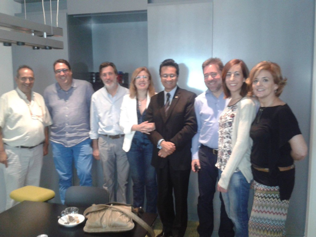 Visita sede 3g-office en Madrid