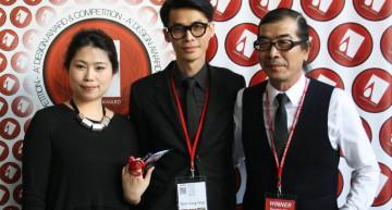 Raynon Chiu  Ganadores Premios. A design Award Competition 2015. Gala Night Como. 10 Deco