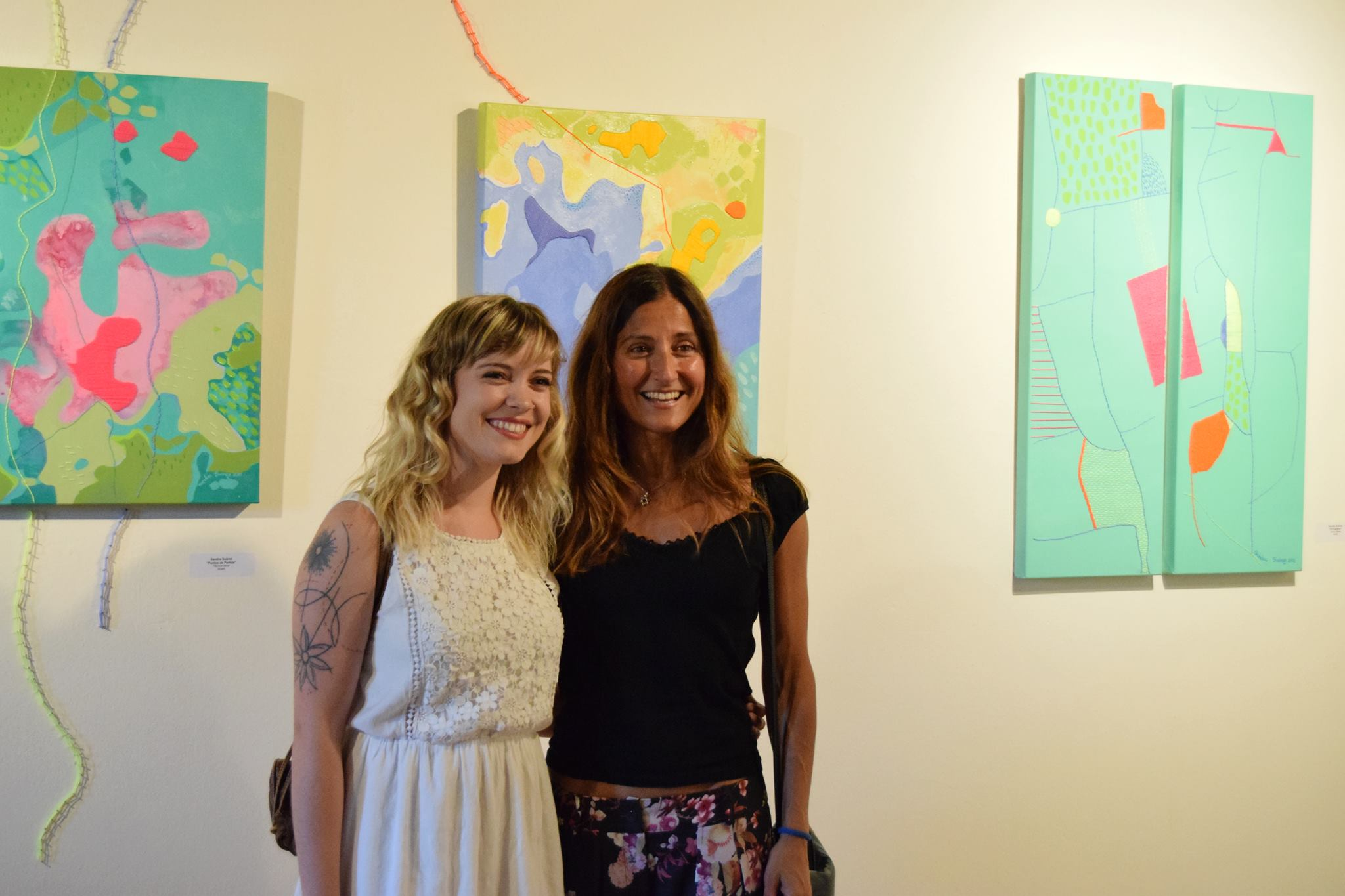 sandra suarez artedemirar y Sonia Piñeiro