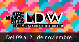 Empieza la semana del diseño en Lima. #LDW2015
