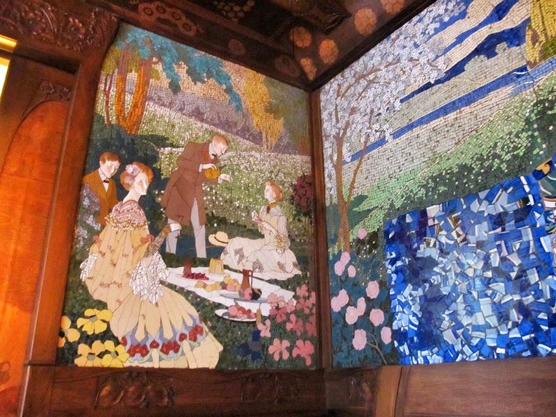 Mosaicos casa lleó morera Barcelona