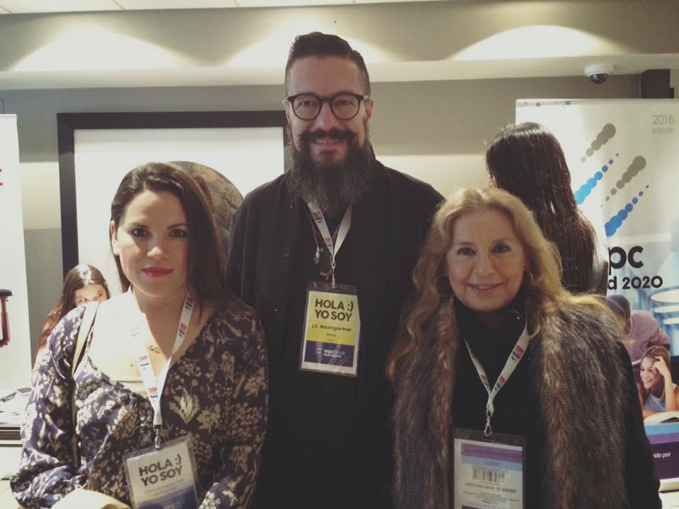 Juan Carlos Baumgartner y Tersa Edwards Lima Design Week