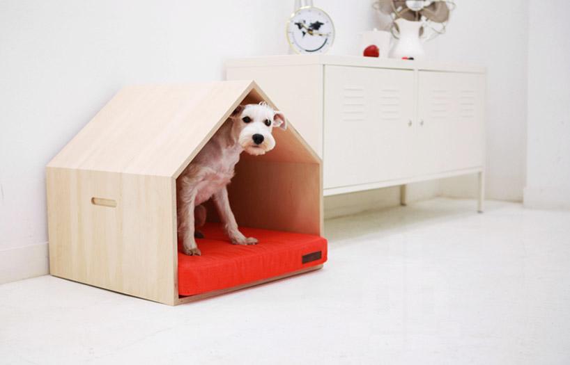 Mun seungji The dog house. casa de mascotas Pet house .Casa con mascotas