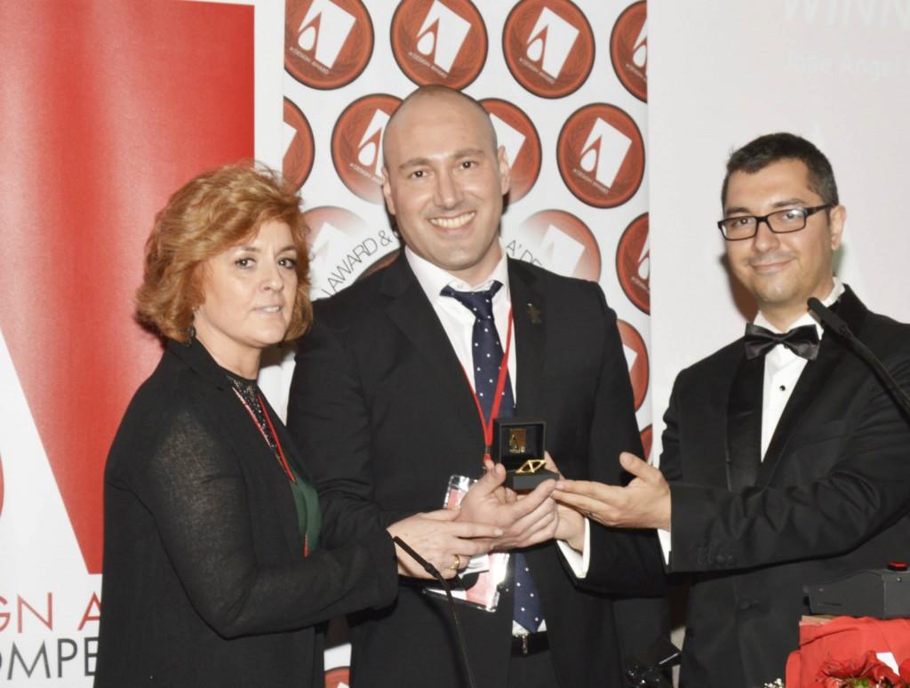 Premio A DESIGN AWARD PLATINUM. GALA NIGHT en COMO