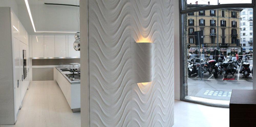 1Lithos-Design_Aster-showroom-Milano-Duomo_1 Lithos design. Piedra tallada esculpida