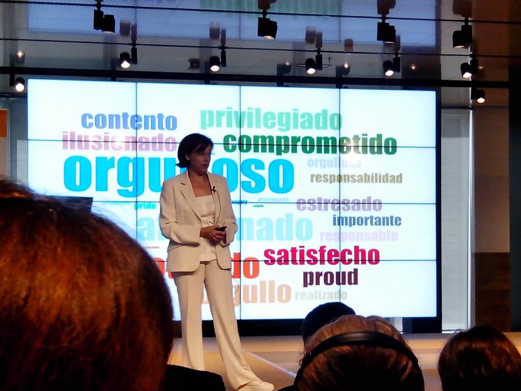 Blanca Gómez . Directora Recursos Humanos Microsoft. Worktech 14