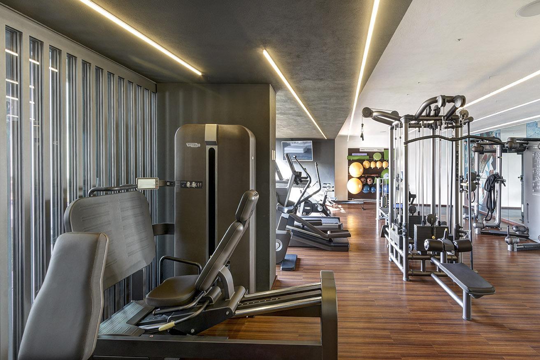 zapopán jalisco terraza aqua lassala + orozco arquitectos gimnasio privado