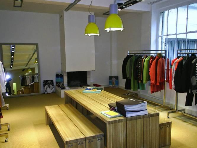 Tipos de tiendas. Showroom