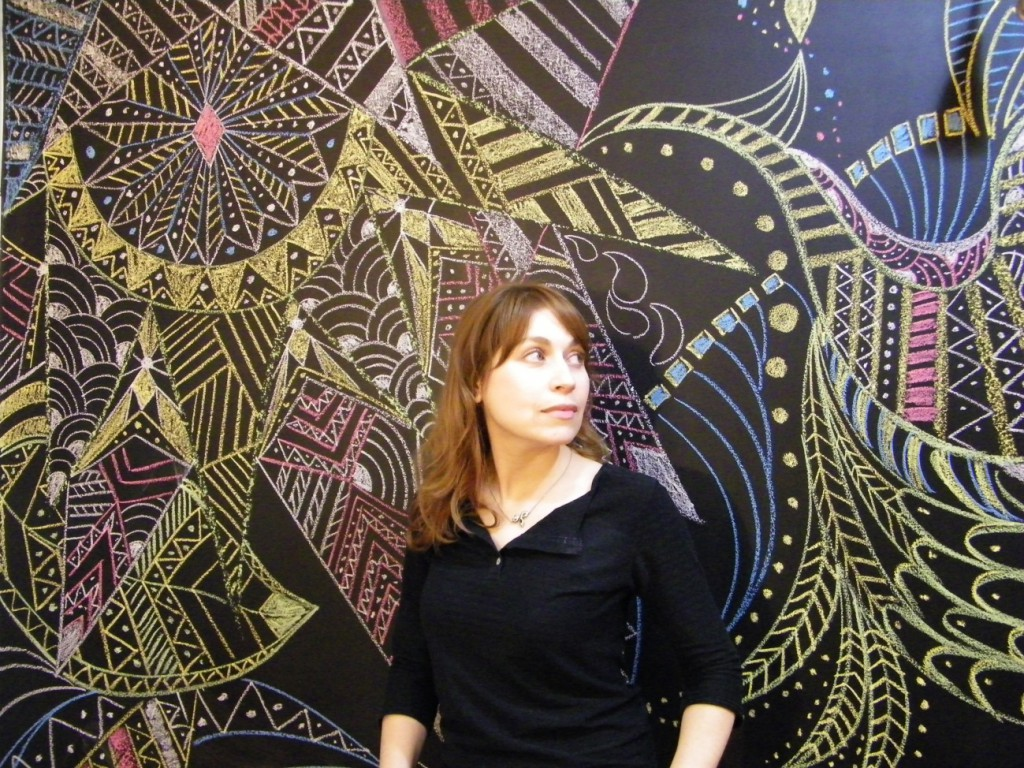 Ana Expósito. MURAL EFÍMERO II art basel