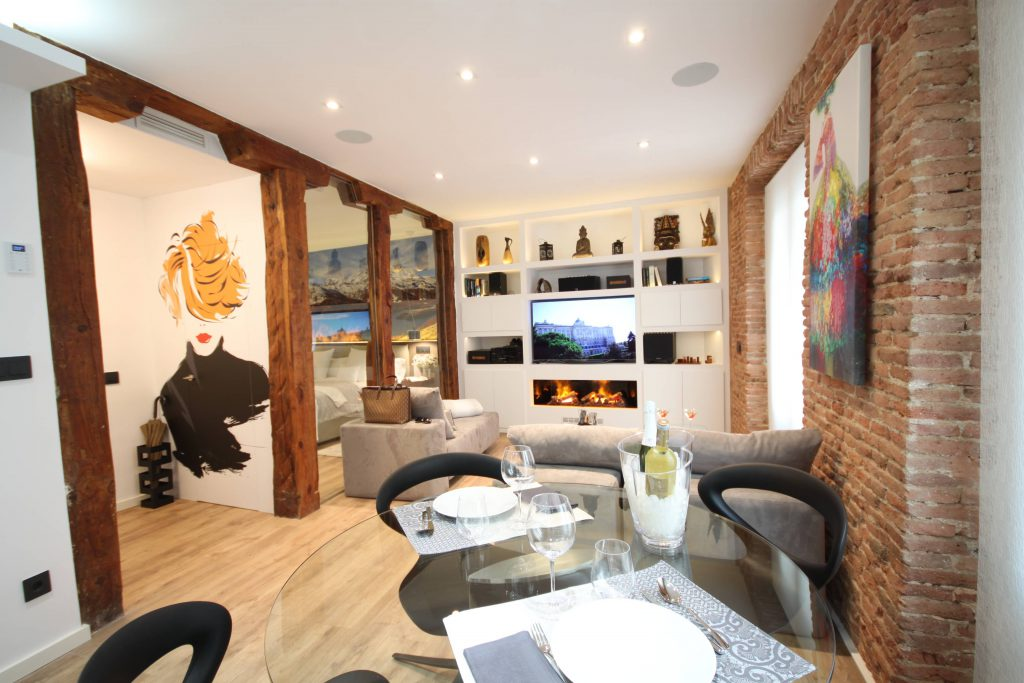 vivienda turistica para alquilar Vista general del salón