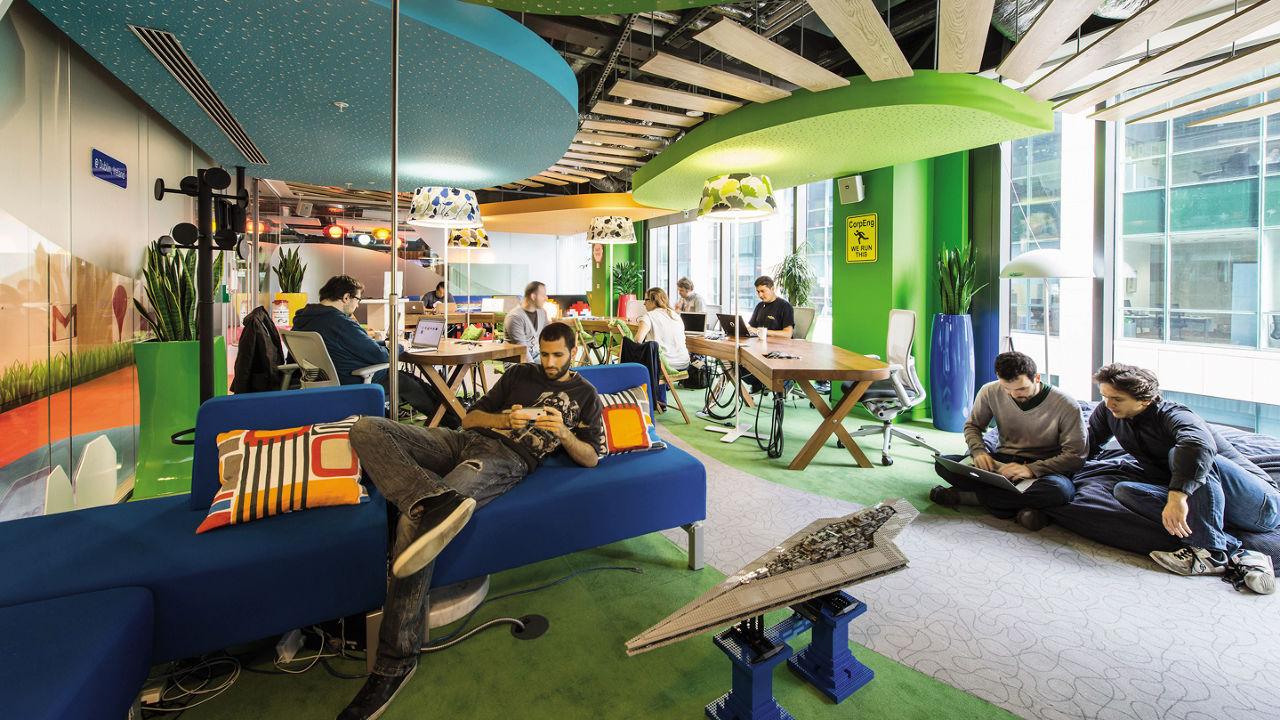 ¿Te imaginas que tu oficina fuera así?? WORKPLACE