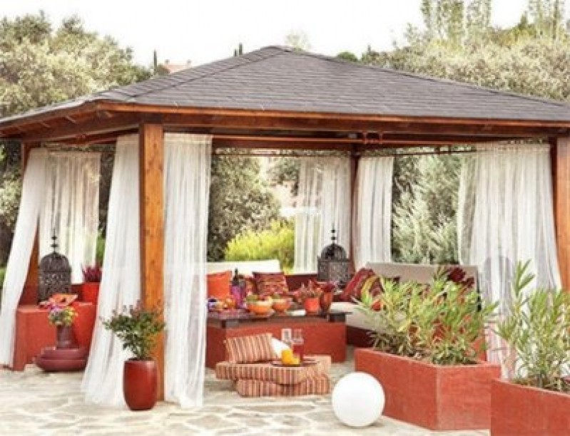 P rgolas y cenadores 10decoracion - Cenador para jardin ...