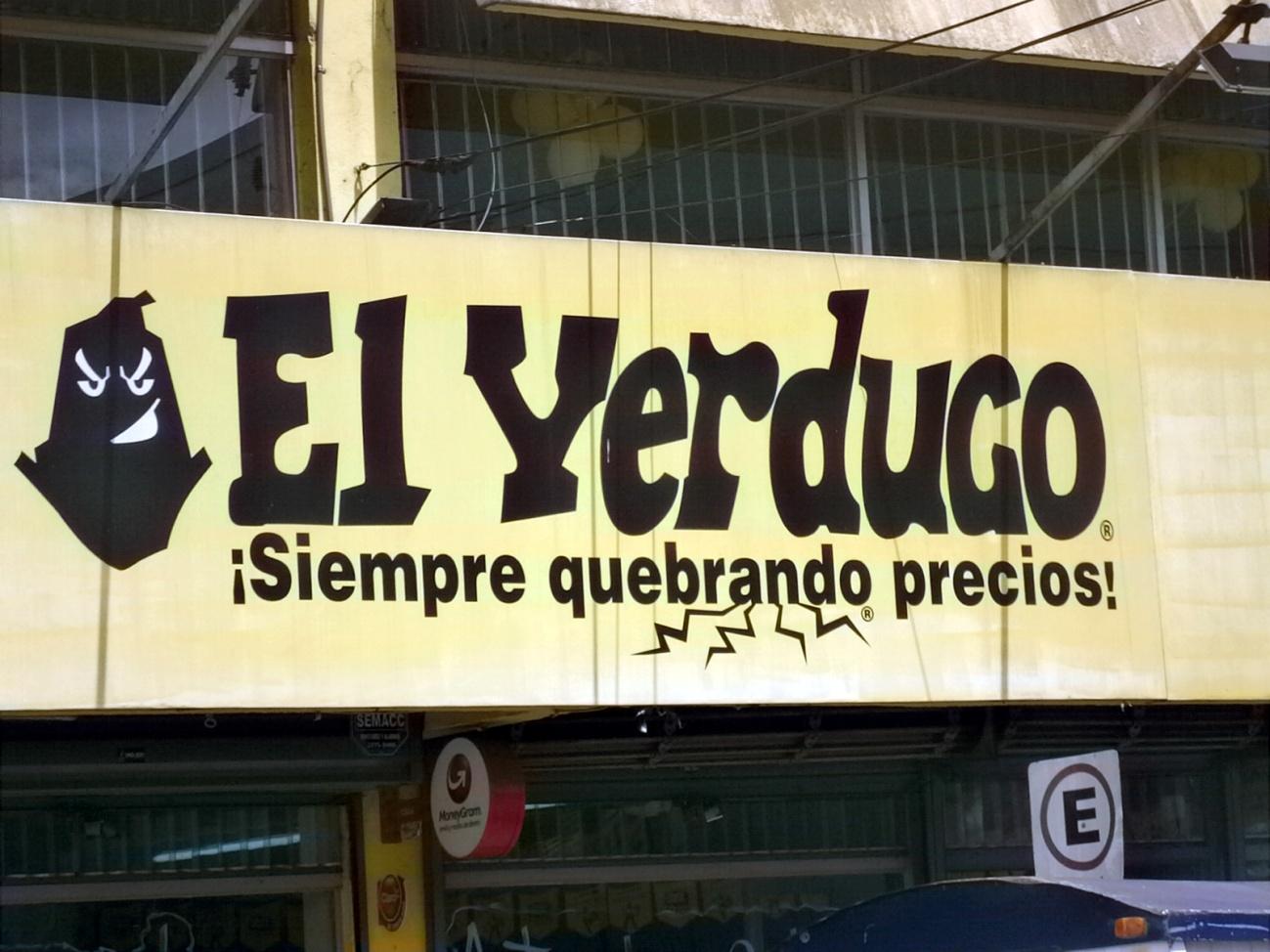 Naming. Tienda el Verdugo. Nombres originales de tiendas retail segun lluis soriano