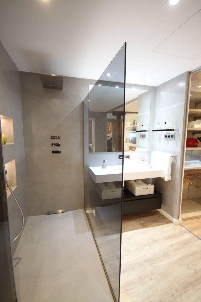 Viviendas turísticas en alquiler, vista ducha