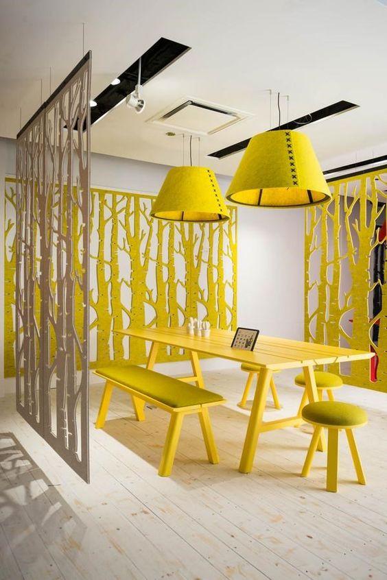 decorar en amarillo. color y bienestar
