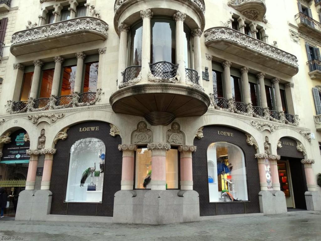 Fotografía de la actual fachada después de su rehabilitación hace 4 años.