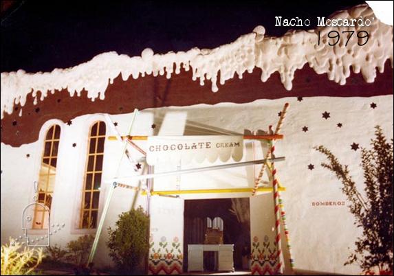 8-fachada chocolate Discoteca Chocolate Valencia. Diseño Nacho Moscardó Años 80. Movida Valenciana Ruta del bakalao