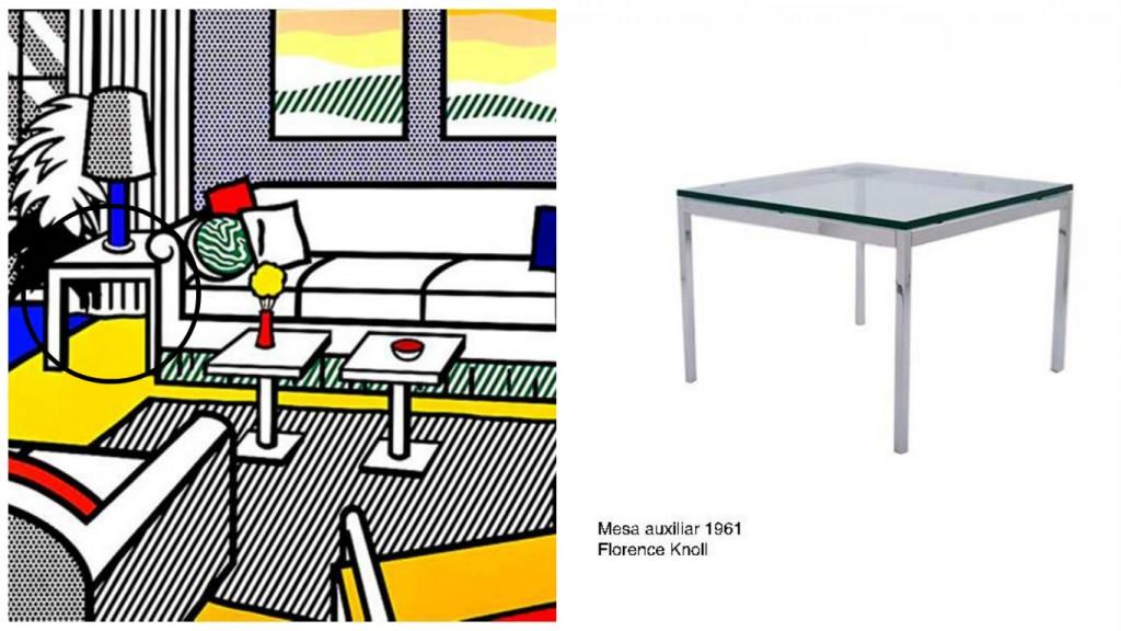 Lichtenstein y el diseño de interiores madinusal