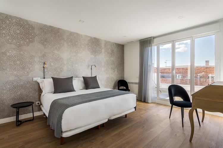 BE MATE MADRID. Apartamentos Be Mate Madrid Plaza de España Skyline