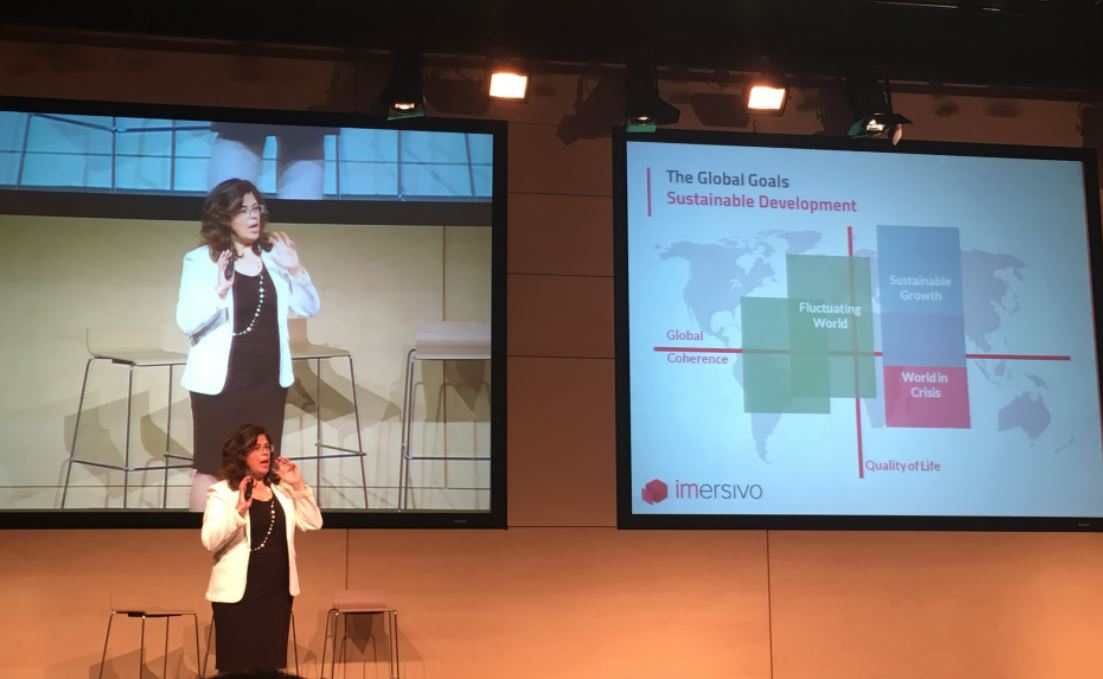 Beatriz Lara . Imersivo Workplace Conference Madrid