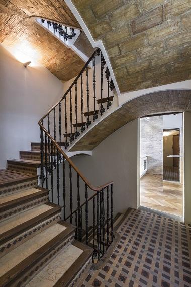Interior en Calle del Mar. Selecta Home: Rehabilitación de vivienda en Valencia. Casa de alquiler.