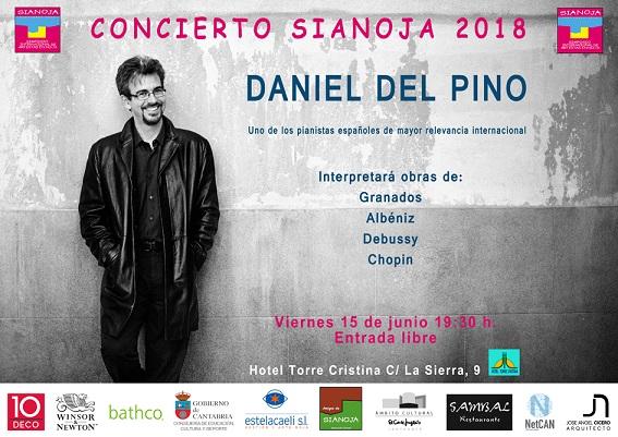 Daniel del Pino Pianista. Sianoja 2018