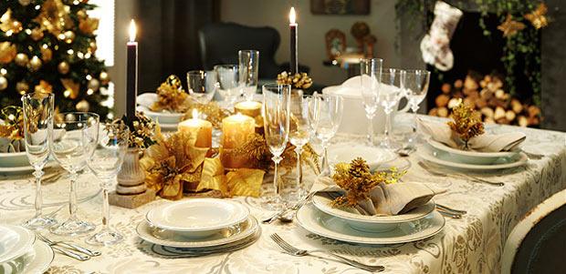 La mesa de Navidad