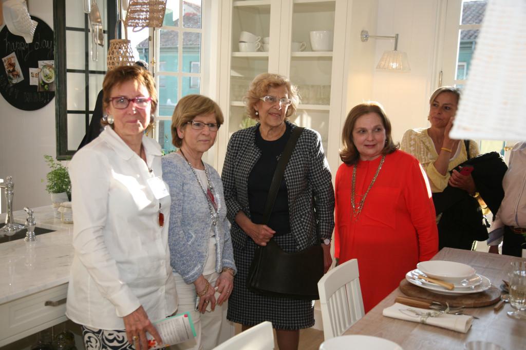 Deulonder con Manuela Carmena en Casa Decor. Casa Decor 2016 en cifras