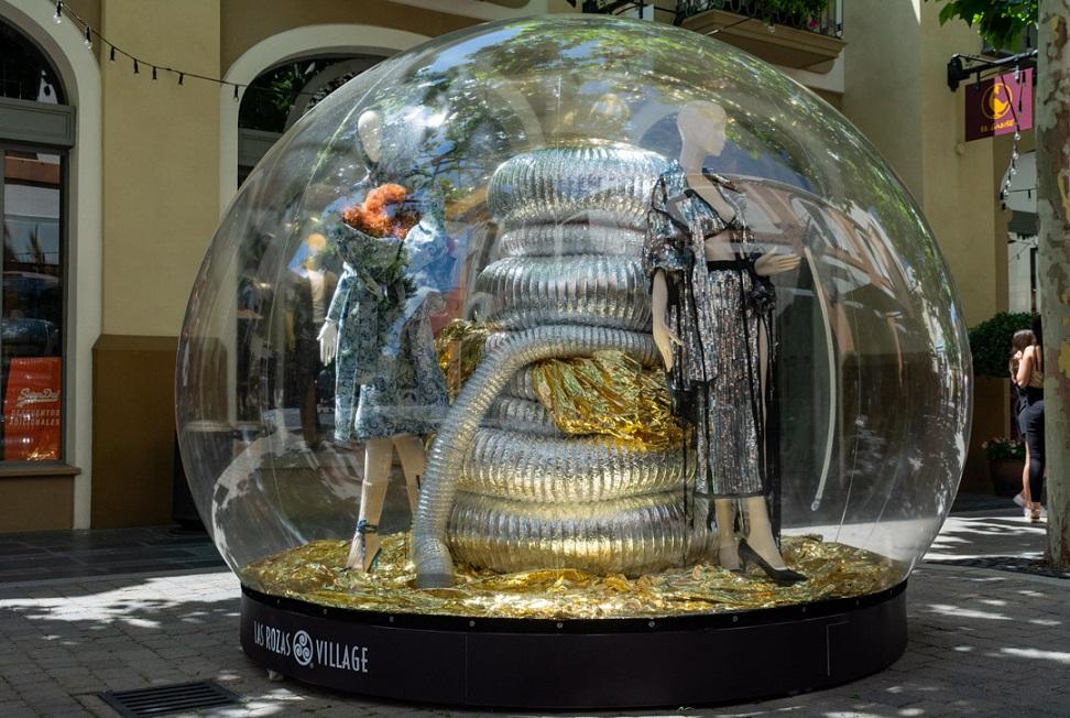 Diseños de Escaparate. Escaparates por menos de 100 euros . Diseño las Rozas Village Centro Superior de Diseño de Moda de Madrid