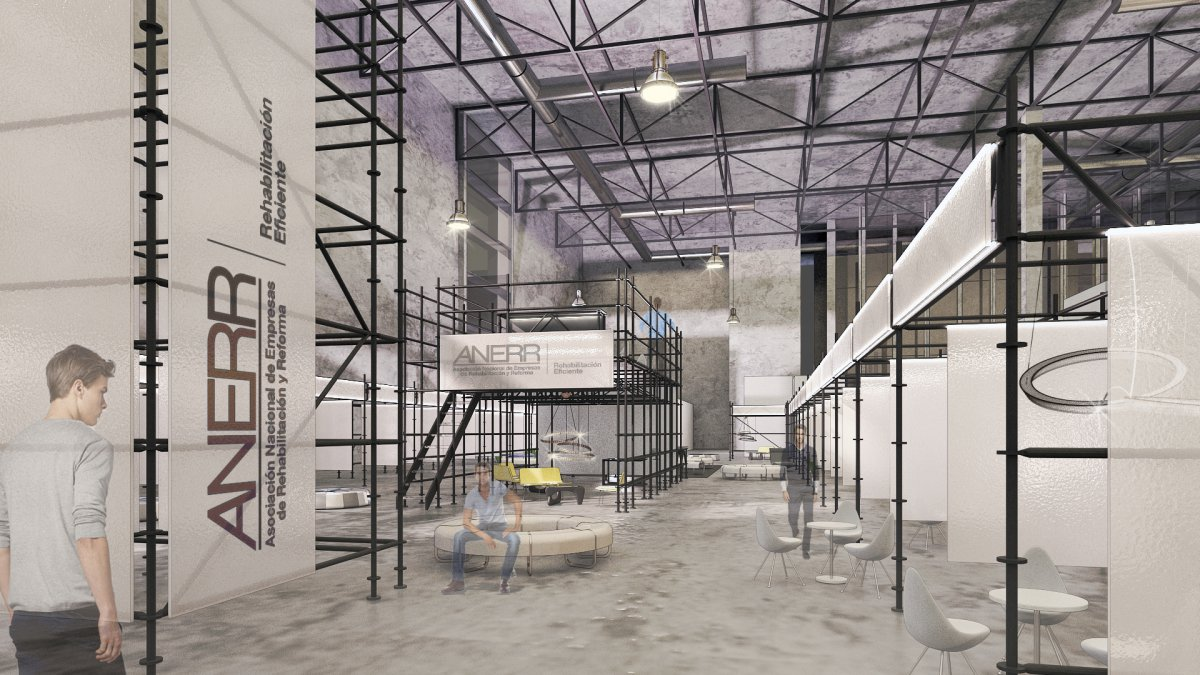 gahecor_renders_ construtec 2016 Ifema Circuito rehabilitacion Anerr