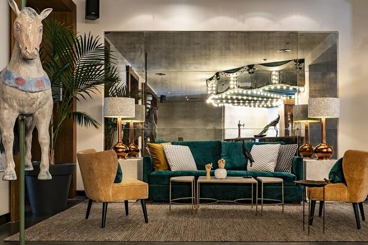 HOTEL VINCCI SOHO MADRID. ALEJANDRA POMBO INTERIORISTA. foto David Montero