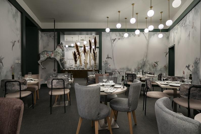 HOTEL VINCCI SOHO MADRID. ALEJANDRA POMBO INTERIORISTA. foto David Montero restaurante Nomad food&Bar