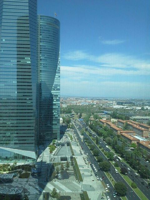 Workplace Conference Torre Cepsa Madrid. Vista desde Torre Cepsa