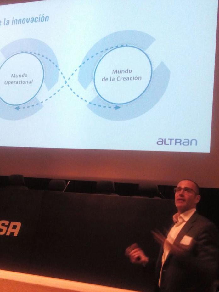 Borja Baturone. ALTRAN .TORRE CEPSA workplace conference Madrid 3g office