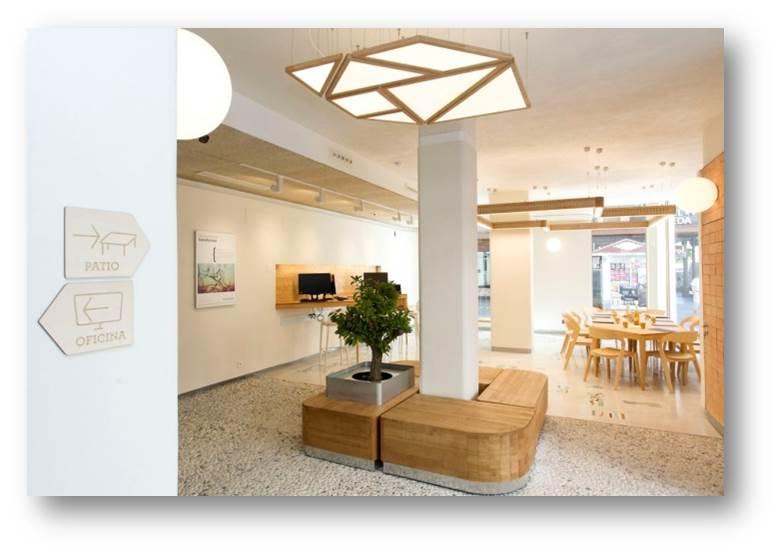 Triodos bank m laga dise o con valor a adido 10decoracion for Oficinas de endesa en malaga