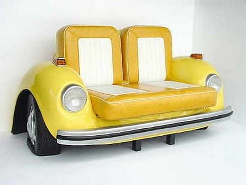 Muebles para amantes de los coches y el motor