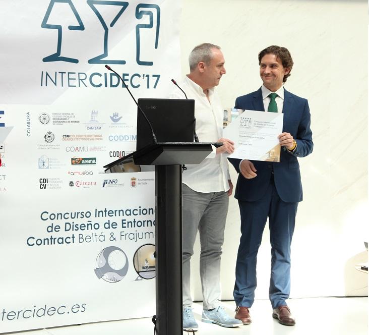 Intercidec'17 Gravedad Zero, 3ºAccesit concurso de diseño intercidec 17