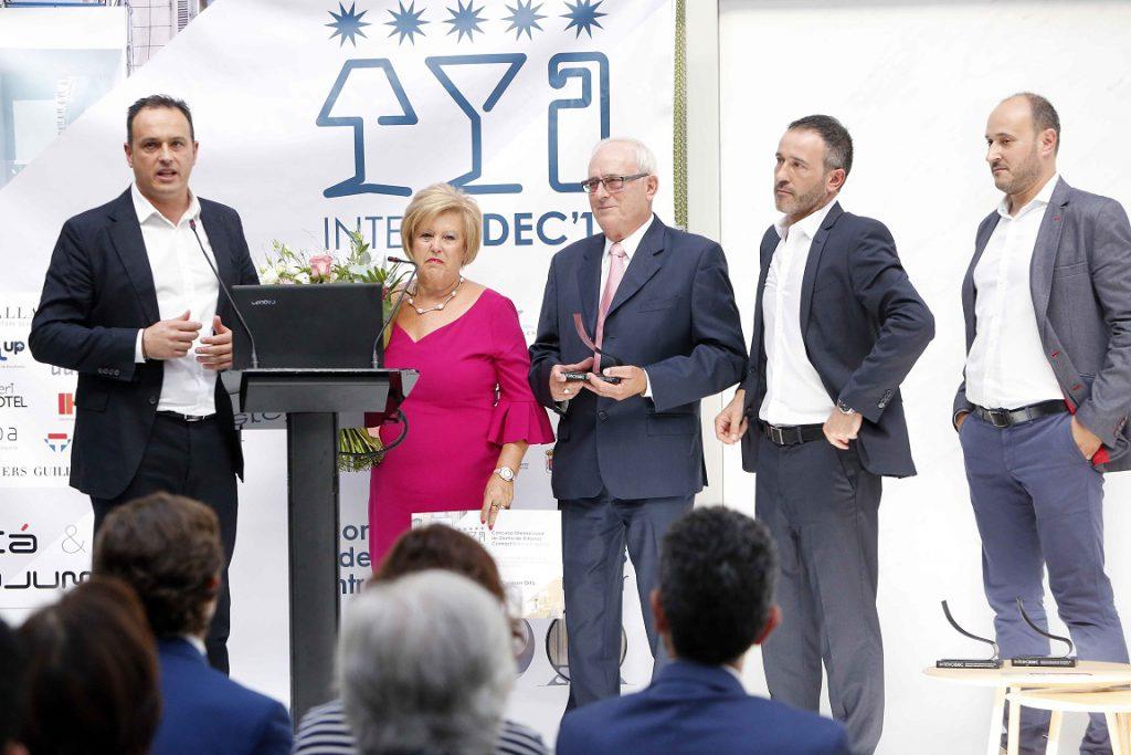 Entrega premio Honorifico fundadores Belta Frajumar en su 50º aniversario. Premios Intercidec ´17 concurso de diseño intercidec 17