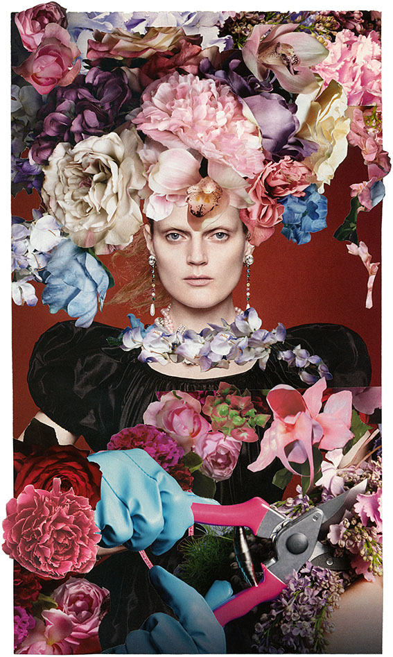 LA-VIRGEN-DE-LAS-FLORES_2014 marisa Coppiano collage art, architetto
