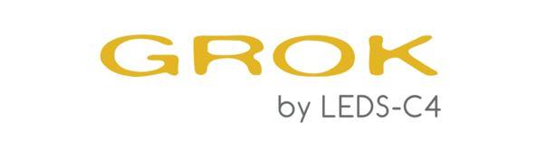 LOGO GROK BY LEDS-C4