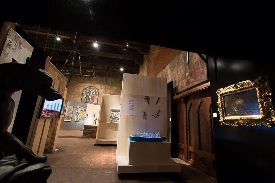 La Medusa dagli Uffizi e l'exhibit sulle sinapsi
