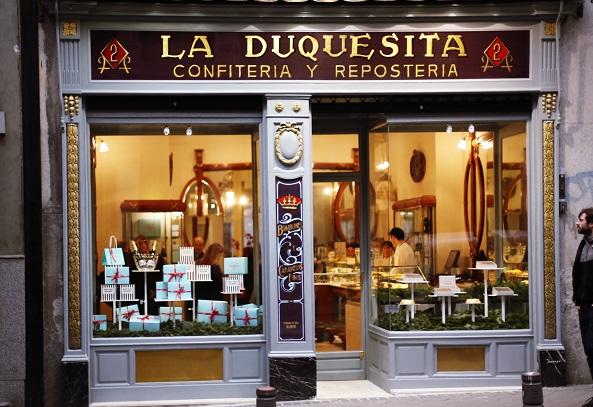 La duquesita Madrid rotulacion a mano diego apesteguia
