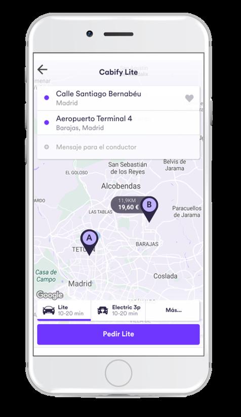 Mejor Diseño Digital - Cabify IED MADRID IEDESIGNAWARDS 2017