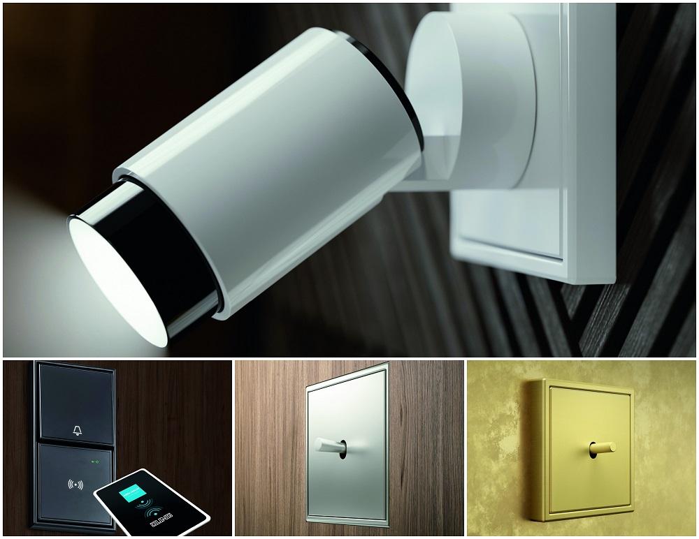 NOVEDADES LIGHT & BUILDING 2018 JUNG . Iuminación Plug & LIght ls 1912