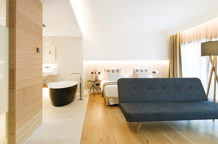 Nakar Hotel - Palma de Mallorca - Room Suite Nakar Hotel con tecnología Jung
