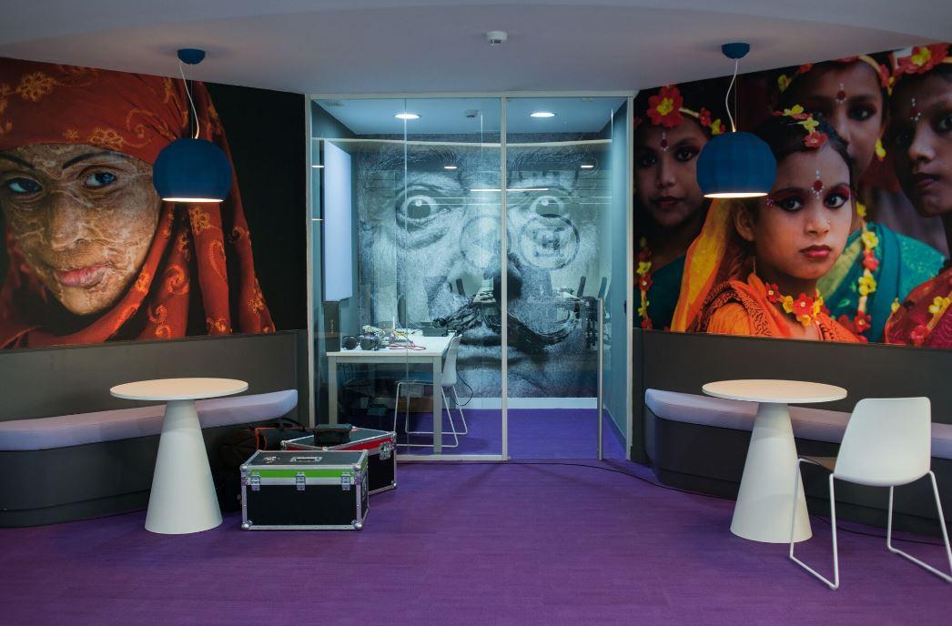 Oficinas de El País. Workplace . Open Space .