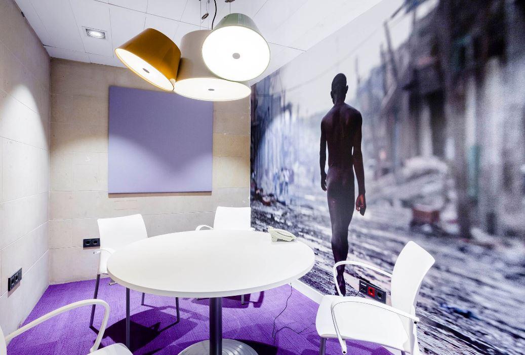 Oficinas de El País. Workplace . Open Space .3 Cómo se trabaja en un periodico 11